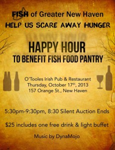 FISH Fundraiser Poster 2013